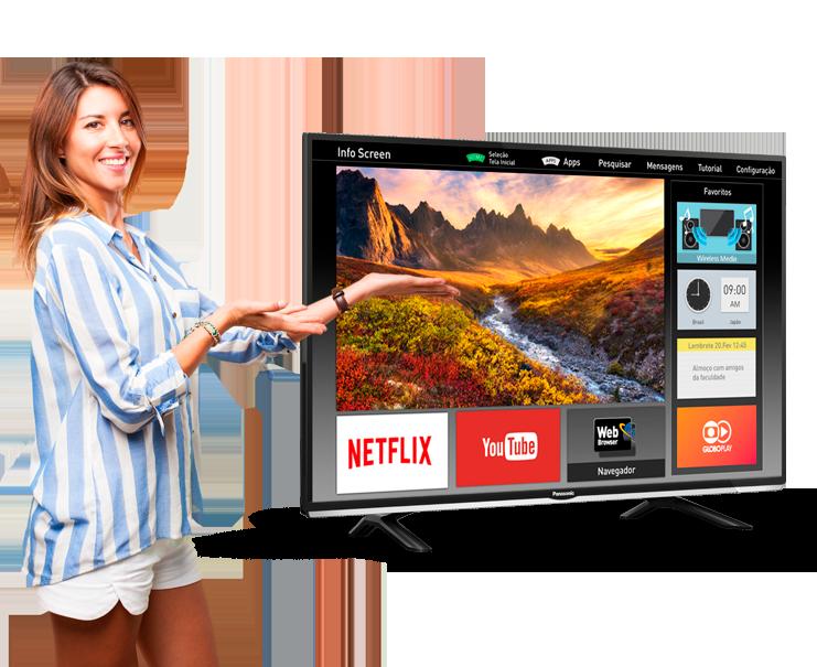 Smart TV LED 40 Panasonic TC-40DS600B