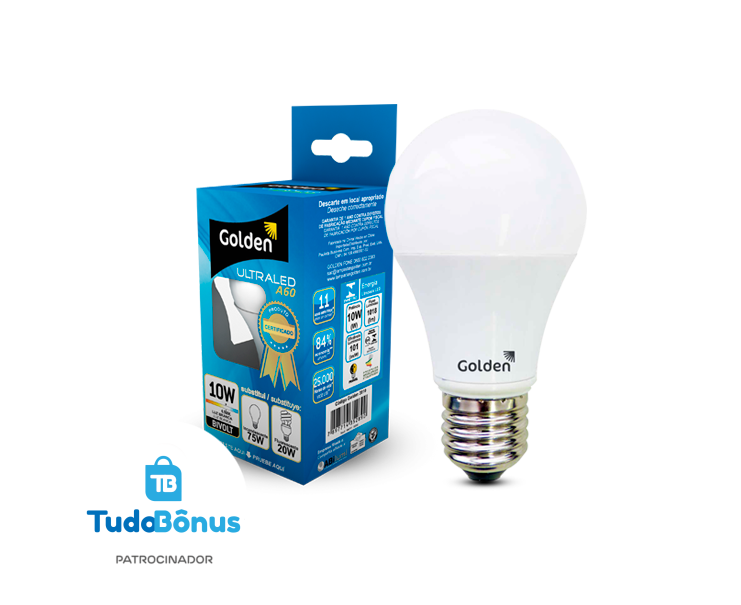 Kit de 6 lâmpadas LED 10W